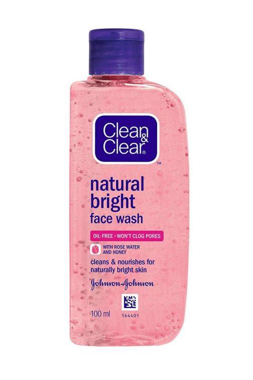 Clean Clear Natural Bright Facewash 100ml 504x756 - Clean & Clear Natural Bright Facewash, 100ml