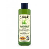 Khadi Natural Herbal Aloe vera Multipurpose Face Wash For Radiant Glowing And Healthy Skin 200ml