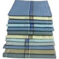 Kohinoor Men's Cotton Handkerchief (Multicolour, Free Size) -12 Pieces