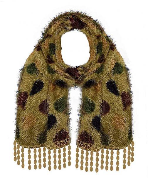 Raaya Winter Accessories For Girls And Women Soft Fur Neck Muffler Stole Scarfs Multi colour 504x603 - Raaya Winter Accessories For Girls And Women, Soft Fur Neck Muffler, Stole, Scarfs, Multi colour,