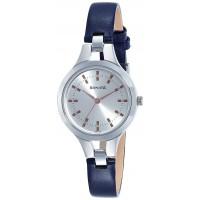 Sonata Steel Daisies Analog Silver Dial Women's Watch