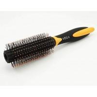 Vega Round Brush with Clip